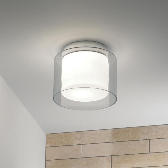 Arezzo ceiling Bathroom Ceiling Light in Polished Chrome