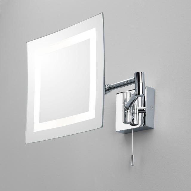 Torino Magnifying Mirror in Polished Chrome
