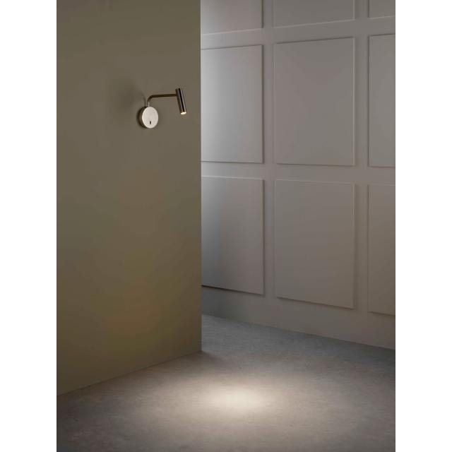 Enna Wall LED Reading Light in Matt Nickel