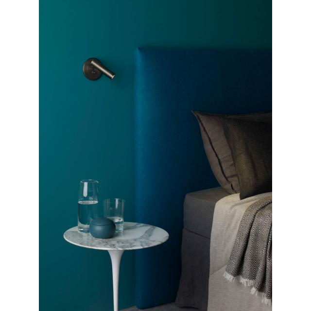 Enna Recess Switched LED Reading Light in Bronze