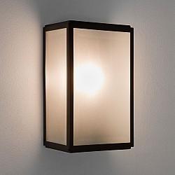 Homefield Sensor Exterior Wall Light in Matt Black
