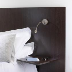 Fosso switched LED Reading Light in Polished Chrome