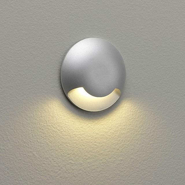 Beam One LED Marker Light in Matt Painted Silver