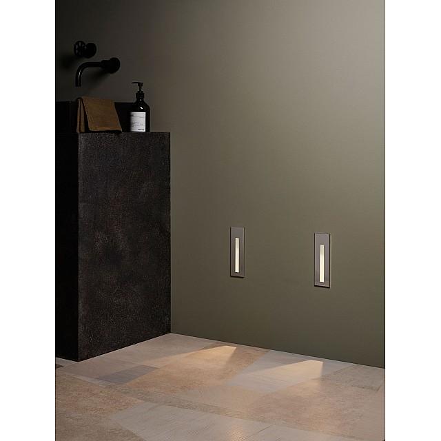 Borgo 55 LED 2700K Marker Light in Matt White