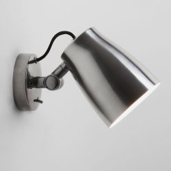 Atelier Wall Reading Light in Polished Aluminium