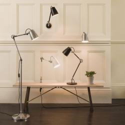 Atelier Grande Reading Light in Polished Aluminium