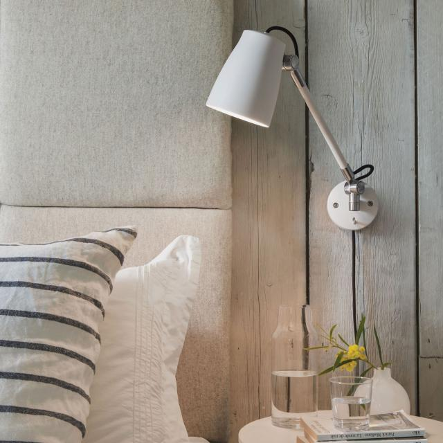 Atelier Grande Reading Light in Polished Aluminium