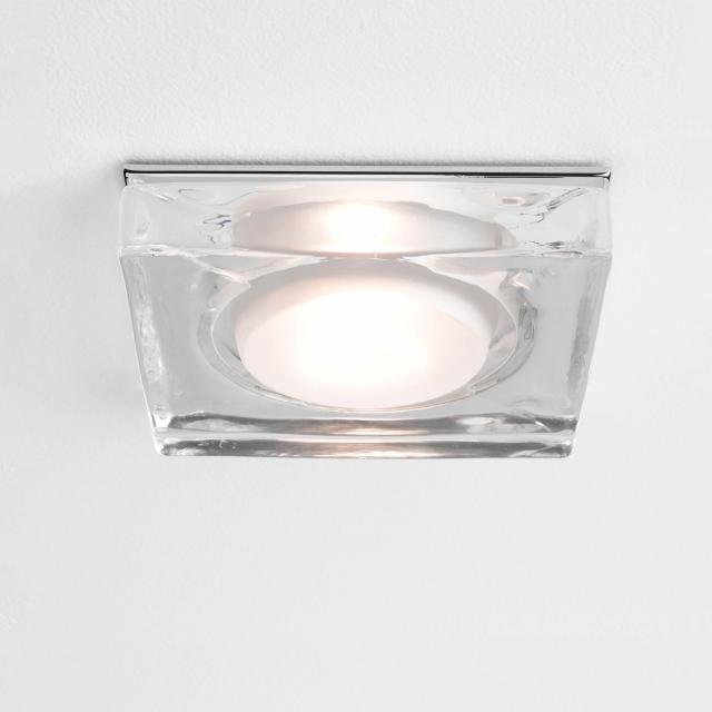 Vancouver Square Recessed Downlight in Polished Chrome