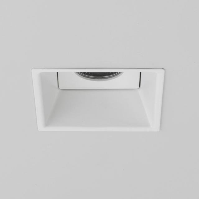 Minima Square IP65 Fire-Rated LED Recessed Downlight in Matt White