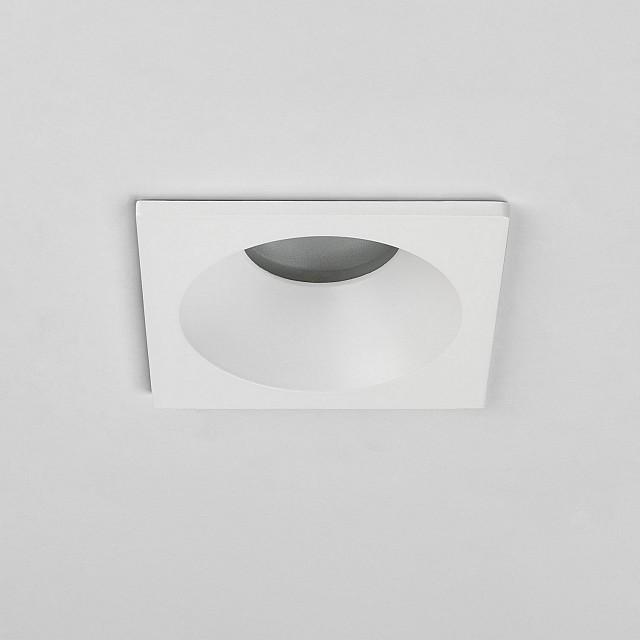 Minima Square IP65 Downlight/Recessed Spot Light in Matt White