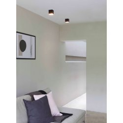 Osca LED Square II Downlight/Recessed Spot Light in Matt Black