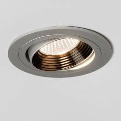 Aprilia Round 2700K Downlight/Recessed Spot Light in Anodised Aluminium
