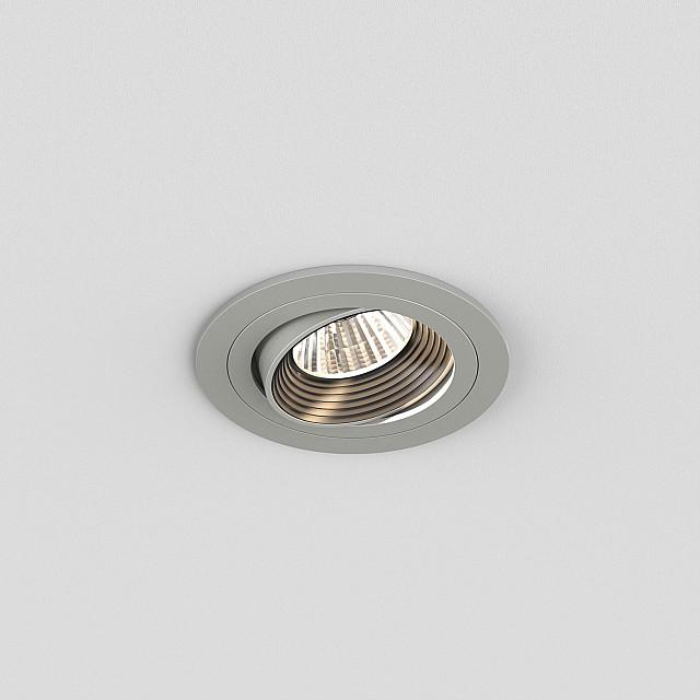 Aprilia Round 2700K Downlight/Recessed Spot Light in Anodised Aluminium
