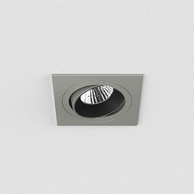 Aprilia Square 2700K Downlight/Recessed Spot Light in Anodised Aluminium