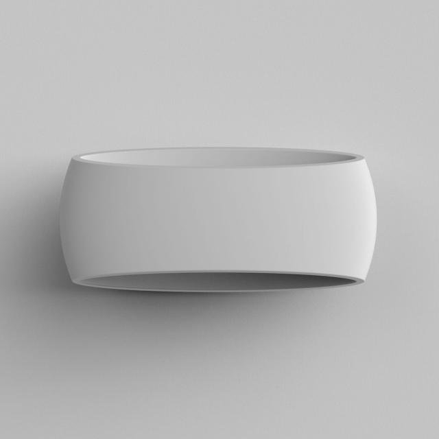 Aria 370 Wall Light in Plaster