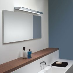 Axios 900 LED Wall Light in Polished Chrome