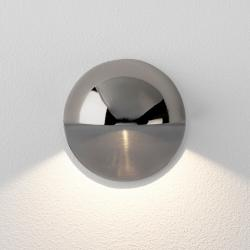 Tivoli LED Coastal Ground Light in Polished Nickel