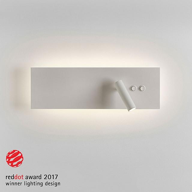 Edge Reader LED Reading Light in Matt White