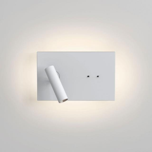 Edge Reader Mini Reading Light in Matt White