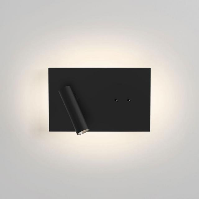Edge Reader Mini Reading Light in Matt Black