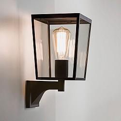 Farringdon Exterior Wall Light in Textured Black