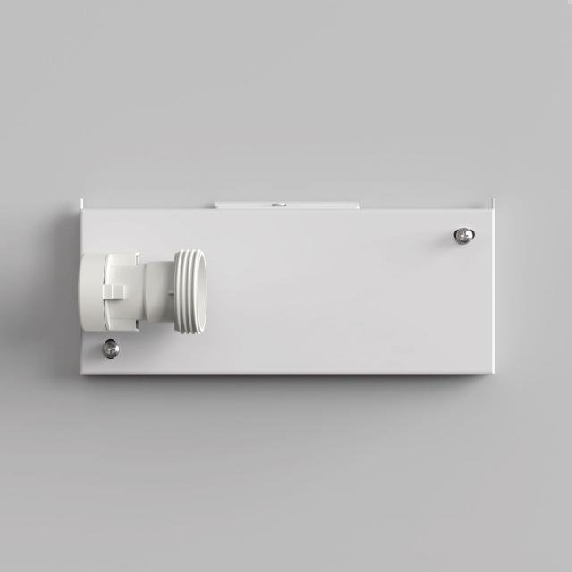 Backplate 2 Wall Light in White