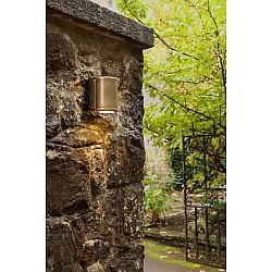 Jura Single Wall Light in Antique Brass