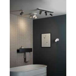 Aqua Single Spotlights in Matt White