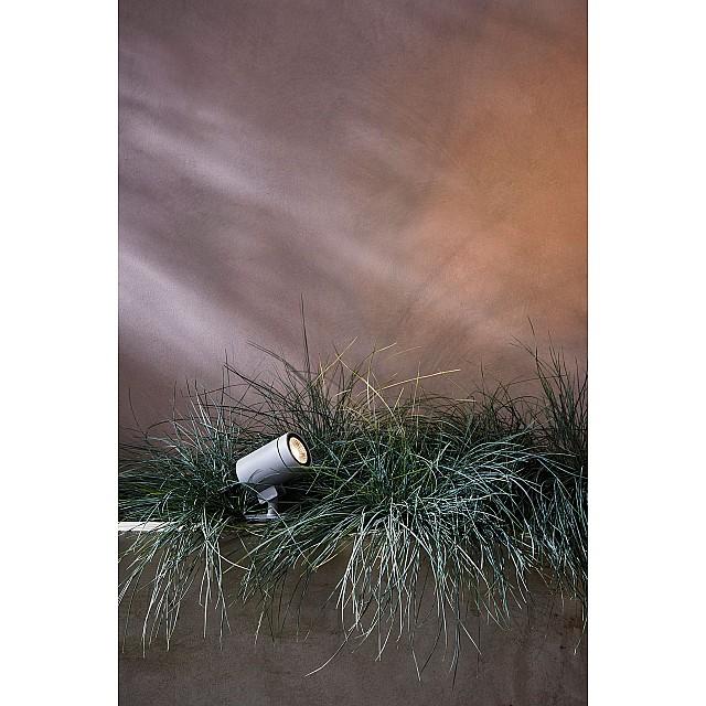 Bayville Spike Spot Ground Light in Textured Grey