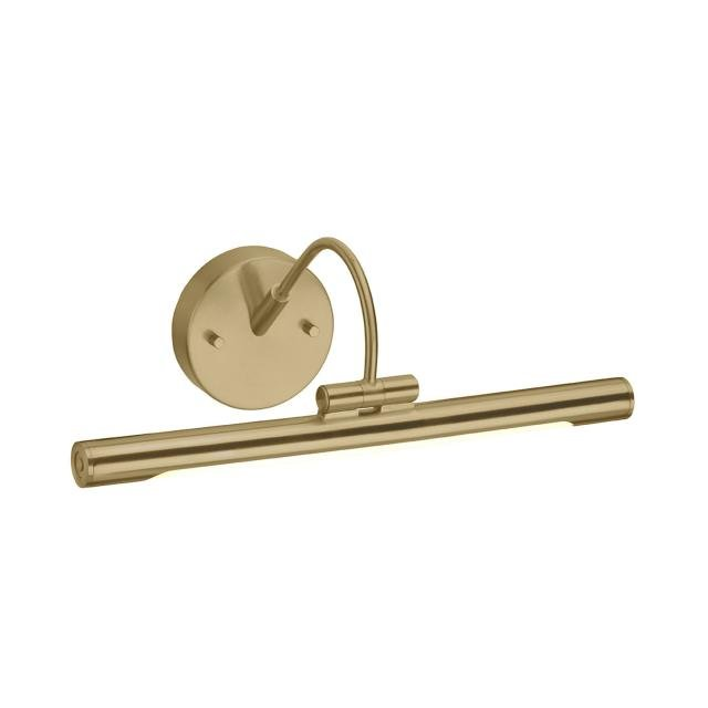 Alton 1 Light Small LED Picture Light - Brushed Brass