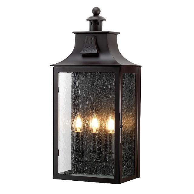 Balmoral 3 Light Wall Lantern