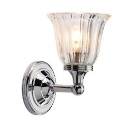Austen 1 Light Wall Light - Polished Chrome