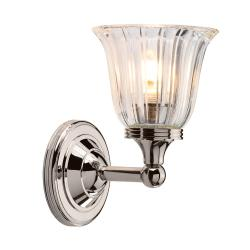 Austen 1 Light Wall Light - Polished Nickel