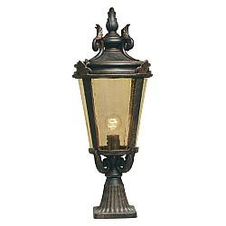 Baltimore 1 Light Large Pedestal Lantern