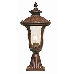 Chicago 1 Light Small Pedestal Lantern