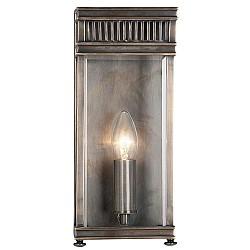 Holborn 1 Light Half Lantern Small - Dark Bronze