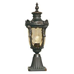 Philadelphia 1 Light Medium Pedestal - Old Bronze