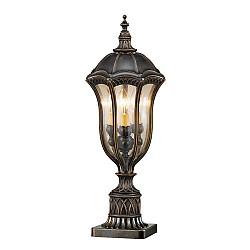 Baton Rouge 3 Light Pedestal Lantern