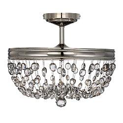 Malia 3 Light Semi-Flush