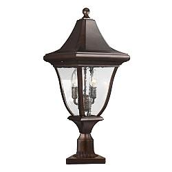 Oakmont 3 Light Medium Post Lantern