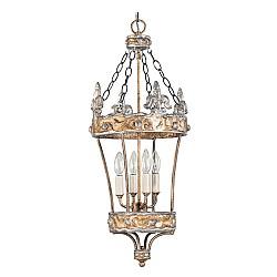 Crown 4 Light Pendant