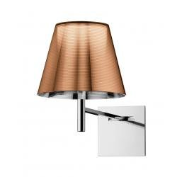 Flos KTribe W Wall Light Chrome / Bronze
