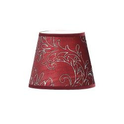 Burgundy Silk Candle Shade