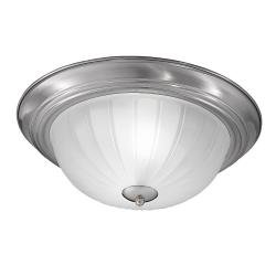 355mm Circular Flush Satin Nickel Finish
