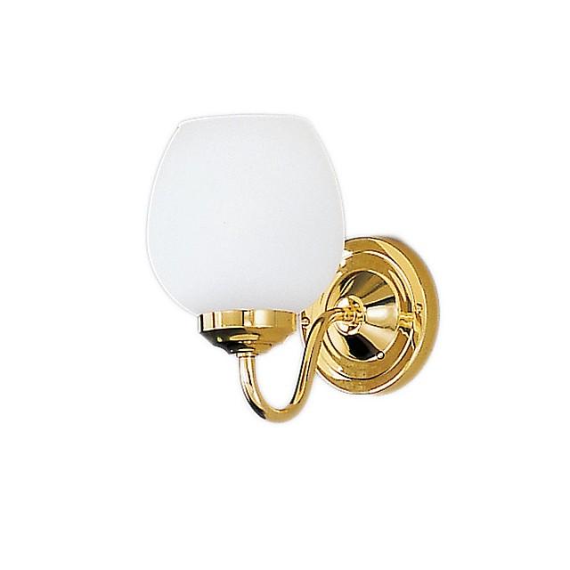 Alba 1lt Bracket Polished Brass Finish