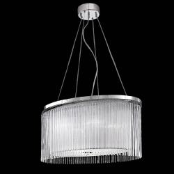 Eros 600mm x 400mm 4lt Pendant Chrome Finish