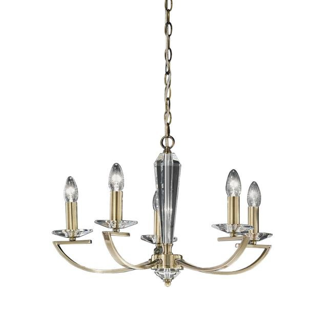 Artemis 5 light Fitting Bronze Finish