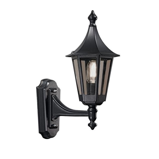 Boulevard Wall Bracket (Up) Black Finish
