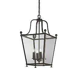 Atrio 4 light Lantern Antique Bronze Finish