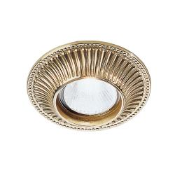 Cast Downlight LED Brass Finish